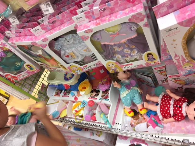 アリオ札幌おもちゃ売り場