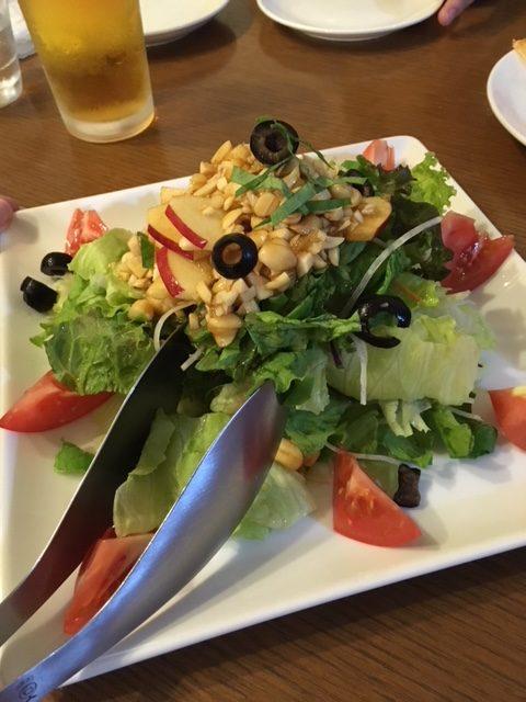 ブル・チェーロのサラダ