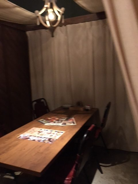 Oyster&Steak DINER es 札幌駅前店の個室