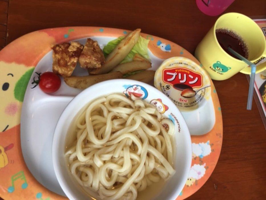 和食カフェ温のキッズうどんセット