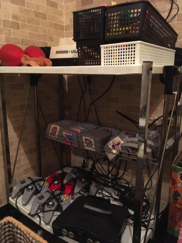 アローネアの個室にあるゲーム