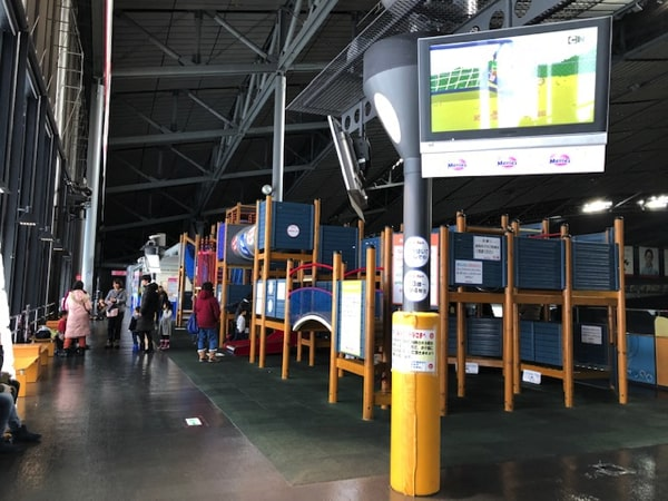 札幌ドームキッズパークの遊具