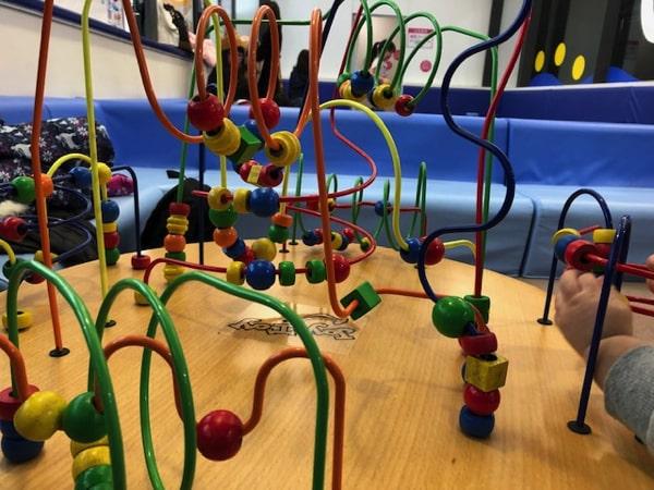 札幌ドームキッズパークのベビーコーナーのおもちゃ