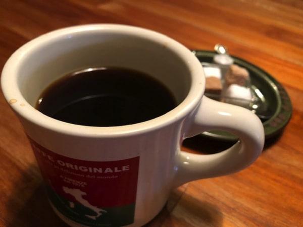 CafeBlueのコーヒー