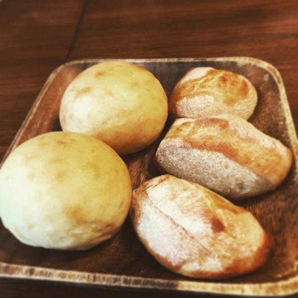 キッカリーナの自家製パン