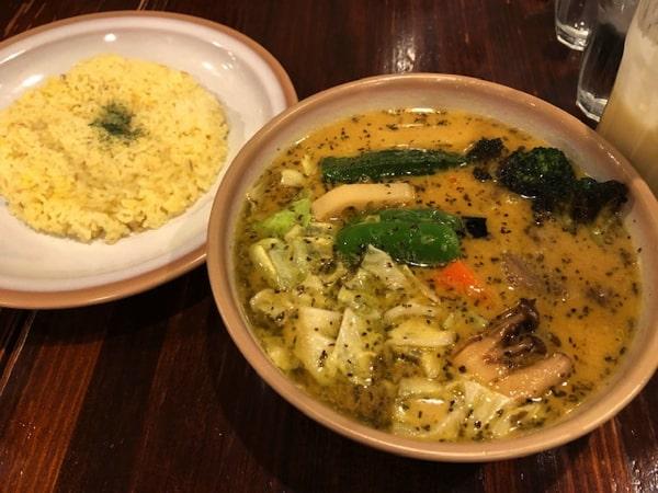 スープカリーキングのラム野菜カリー