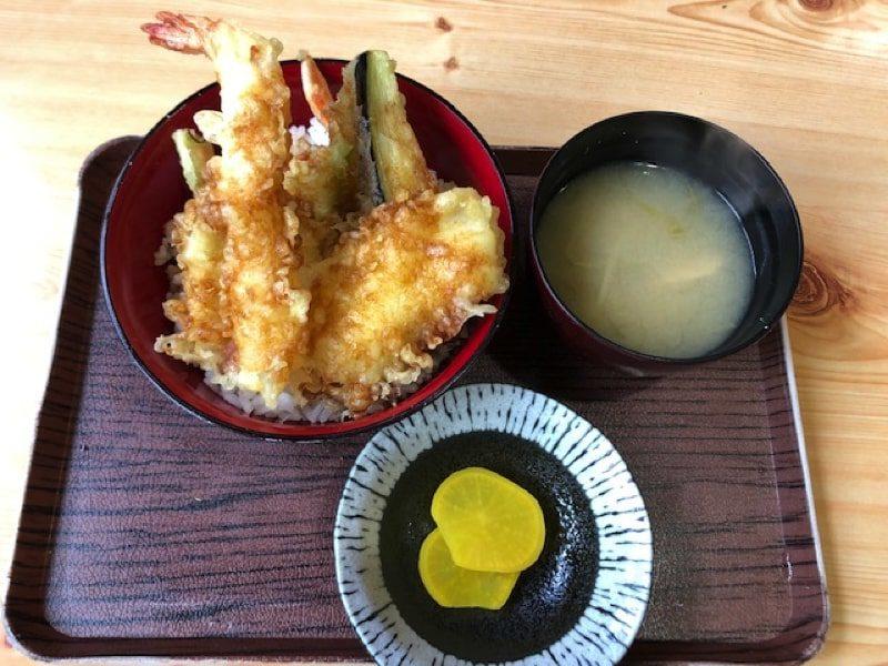寿司処家紋の天丼