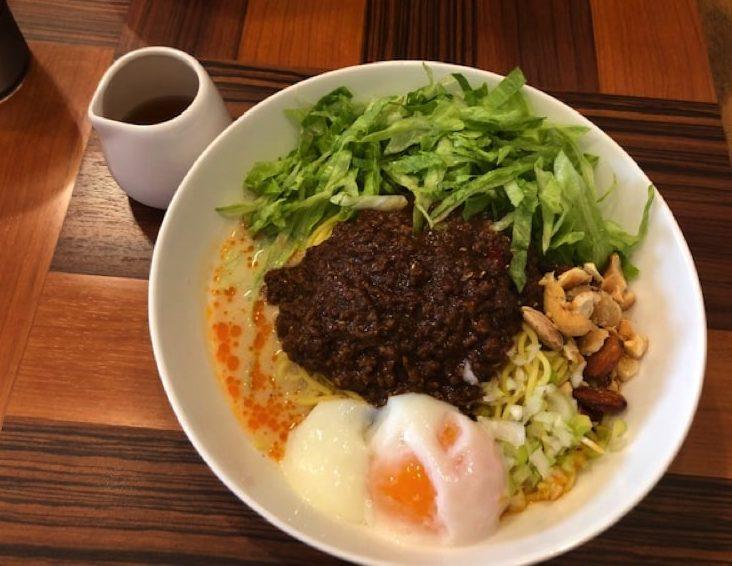 ラーメン・カフェ マルタケの汁なし担々麺