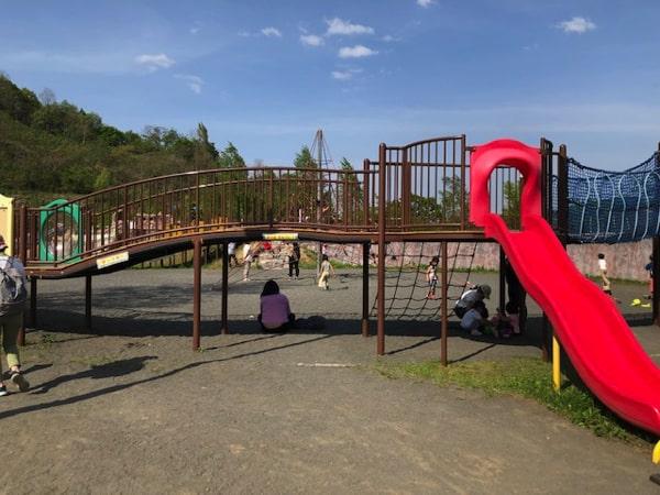 五天山公園の遊具