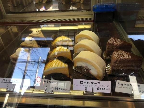 佐藤洋菓子店のケーキ