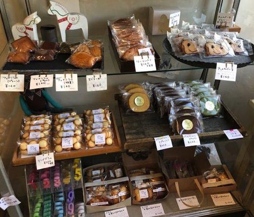 佐藤洋菓子店の焼き菓子