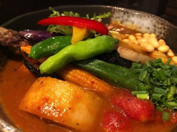 Rojiura Curry SAMURAI.平岸店の野菜カリー