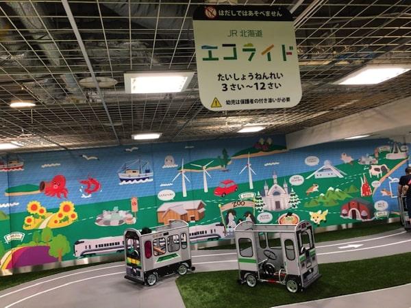 あそびパークplus+のJR北海道エコライド
