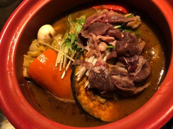 しゃば蔵の鹿肉のスープカレー