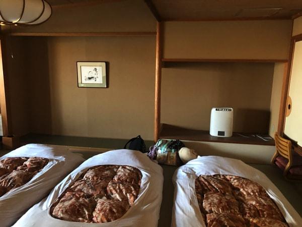 湯の川観光ホテル祥苑の客室