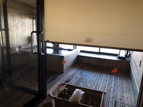 湯の川観光ホテル祥苑の客室露天風呂