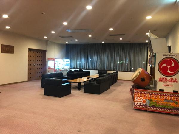 湯の川観光ホテル祥苑のゲームコーナー