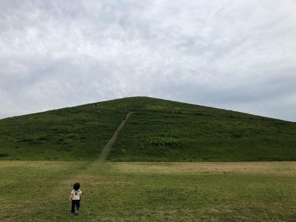 モエレ沼公園のモエレ山