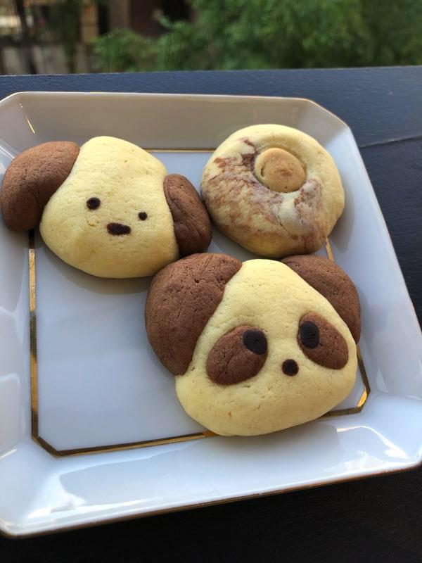 喫茶フルーッのパンダちゃんクッキー