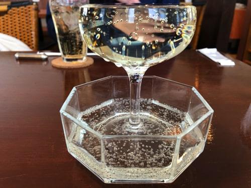 円山カルネのこぼれワイン